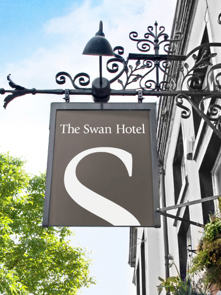 The swan hotel sign_905
