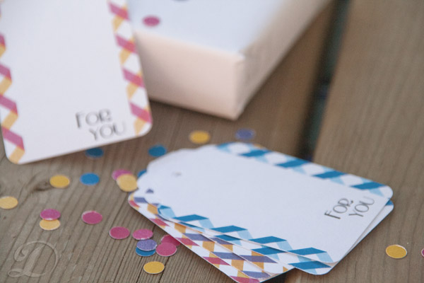 gingham gift tags 2