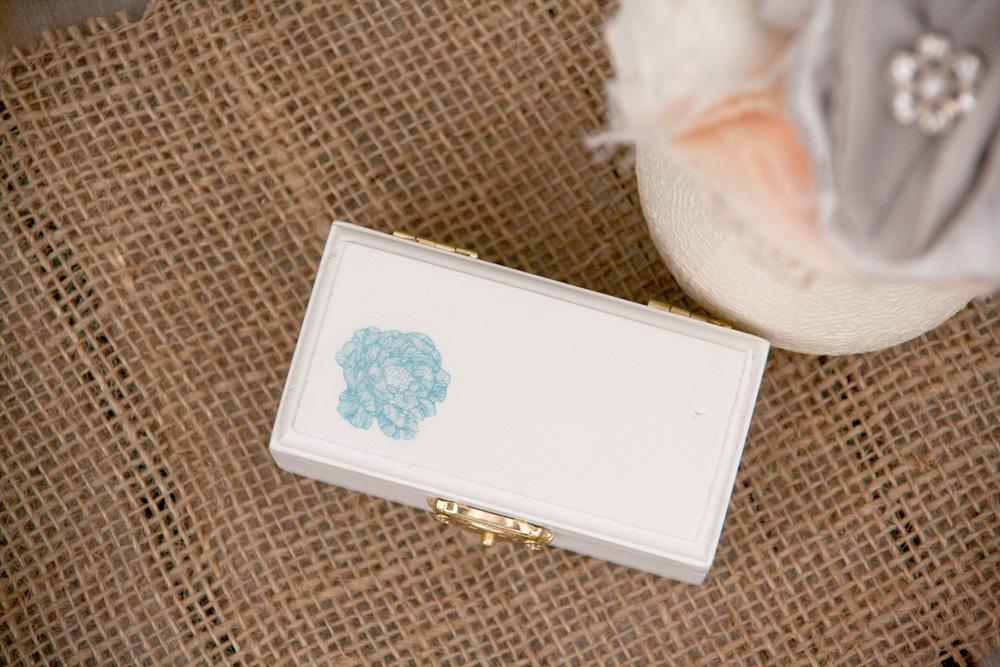 Blue Flower Ring Box | Lovely Designs