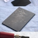 crocus stamp carving